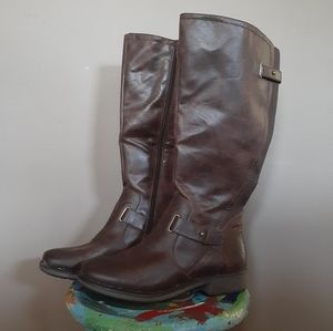 Baretrap sophy brown tall boots